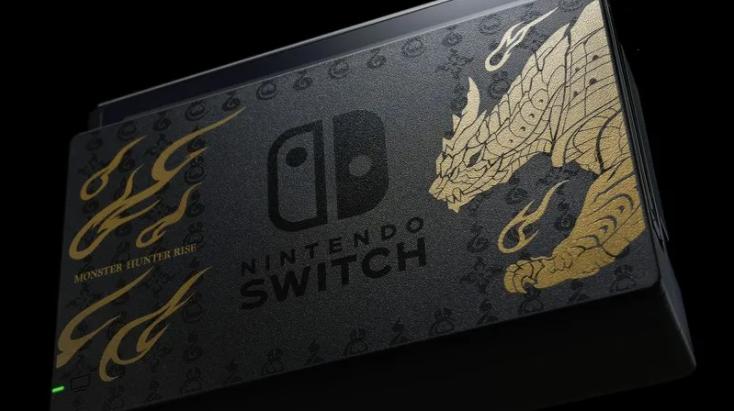 怪物猎人崛起限定版switch与手柄公布
