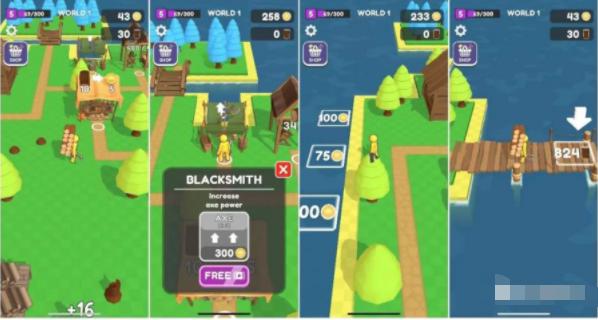 Voodoo新游戏《Lumbercraft》打破美榜第一