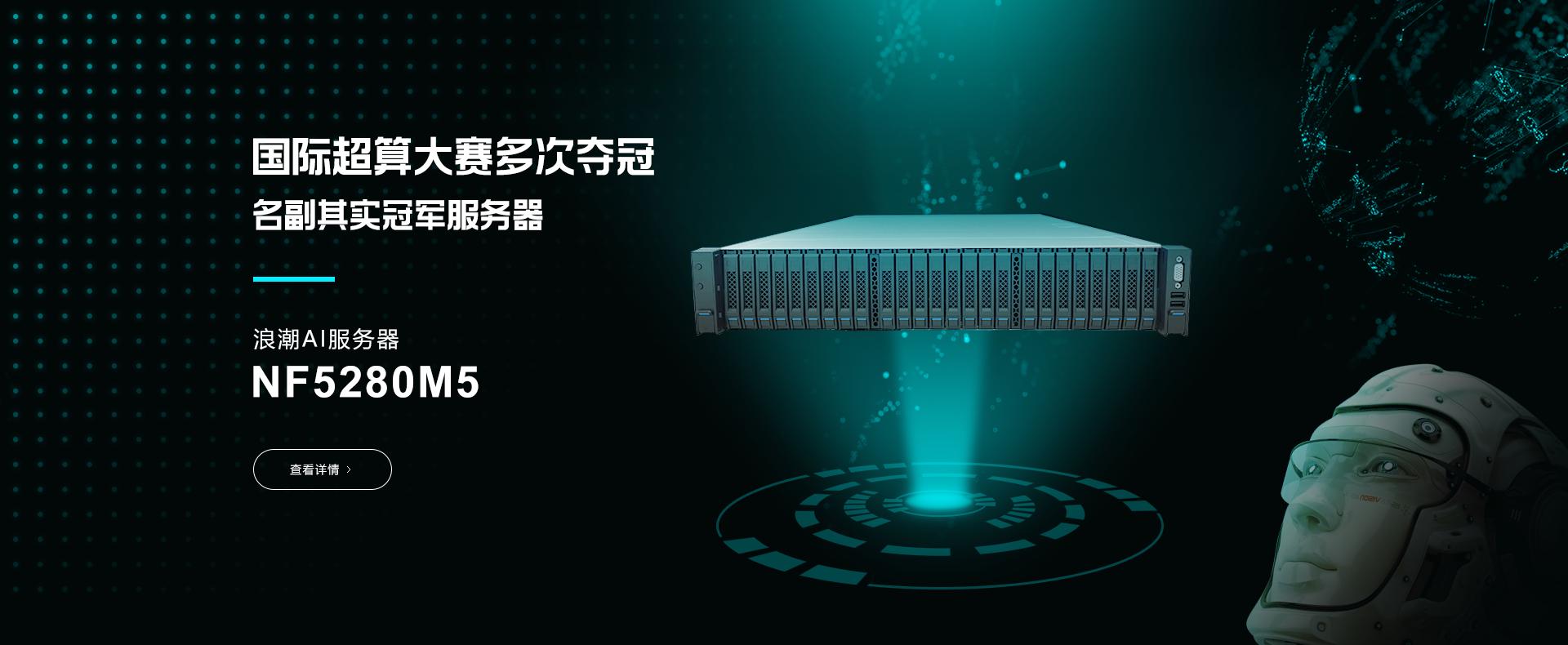 浪潮AI服务器NF5280M5