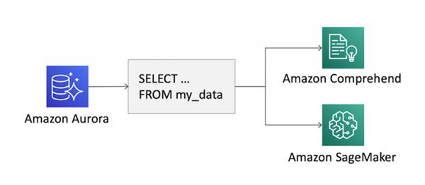 用户可直接在关联式资料库Amazon Aurora应用机器学习