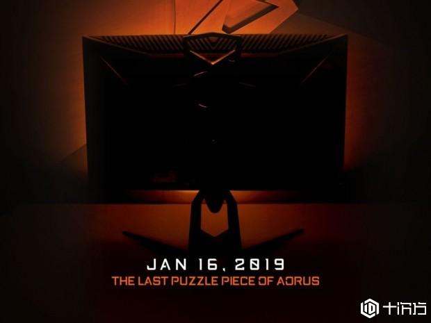 技嘉将Aorus的FreeSync显示器带到了CES 2019