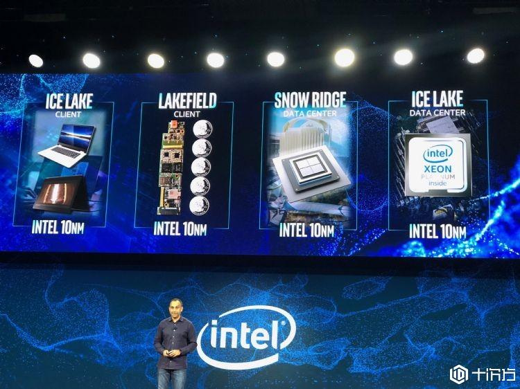英特尔10纳米的4大产品线全亮相