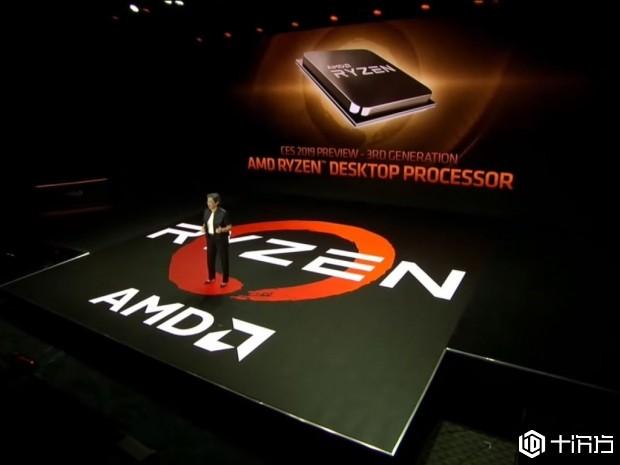 AMD表示,第三代Ryzen可放置两个8核芯片