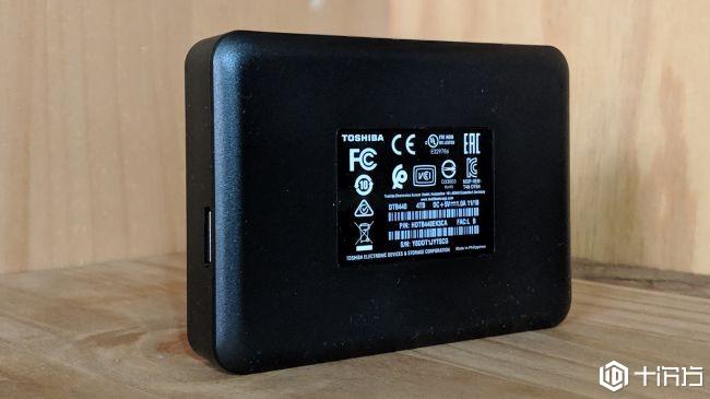 东芝Canvio 4TB外置硬盘驱动器(2019版)测评