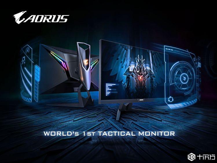 战术型电竞屏幕,AORUS AD27QD震撼登场