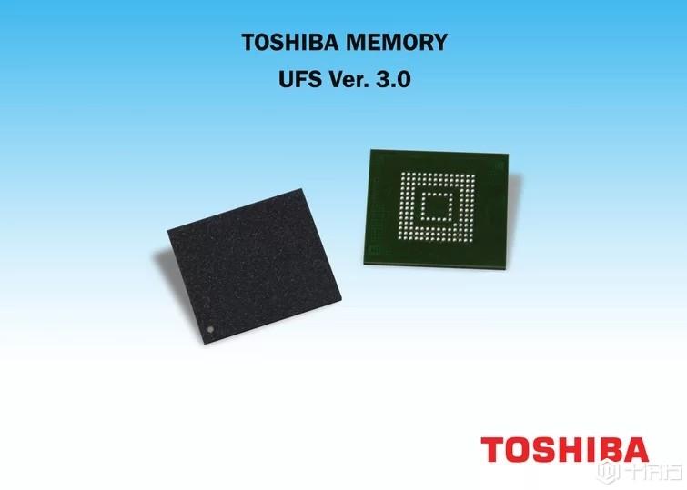 东芝推出业界首款UFS 3.0嵌入式闪存芯片