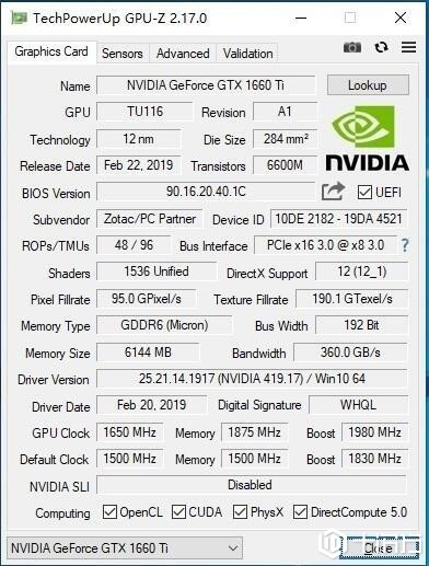 GPU-Z更新到v2.17.0 增加了大量新支持和BUG修复