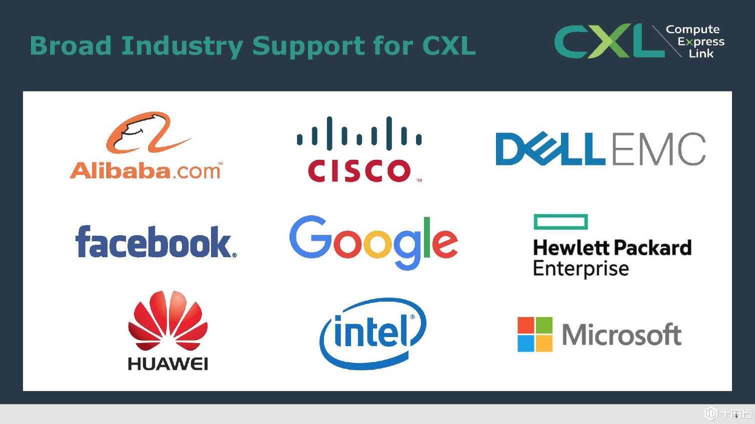 为数据中心英特尔推出CXL总线协议