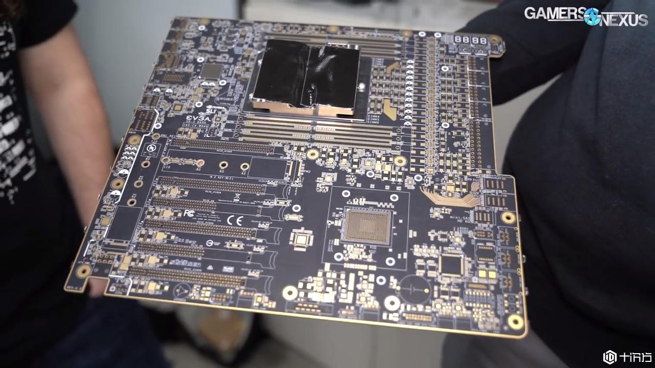 新品速递:EVGA以独特的布局准备LGA 3647主板