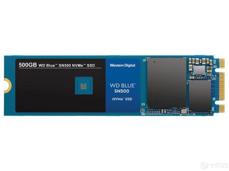 西数推出新蓝盘SN500 SSD,彻底转向PCI-E NVMe