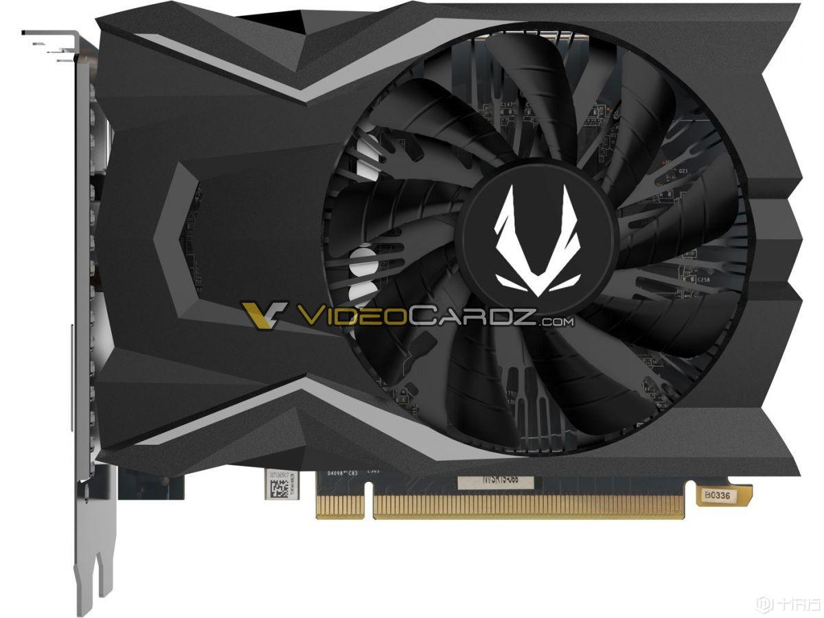 ZOTAC GeForce GTX 1650:无电源连接器