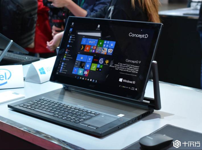 宏碁推出超静音笔记本ConceptD,创意人士从业者的福音