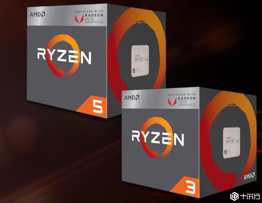 AMD发布最新的Ryzen 3 3200G和Ryzen 5 3400G APU 性价比超高