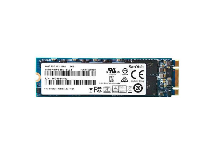 闪迪 SD8SNAT-128G X400 128G 0.3DWD 2.5 M.2 SSD 读密集型
