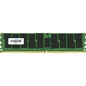 美光 DDR4 16GB CL17 内存 ECC Reg DIMM 288-pin 2400 MT/s