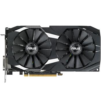 华硕 DUAL-RX580-O8G 1380MHz/ 8/4GHz /256bit DDR5 雪豹系列 电脑显卡