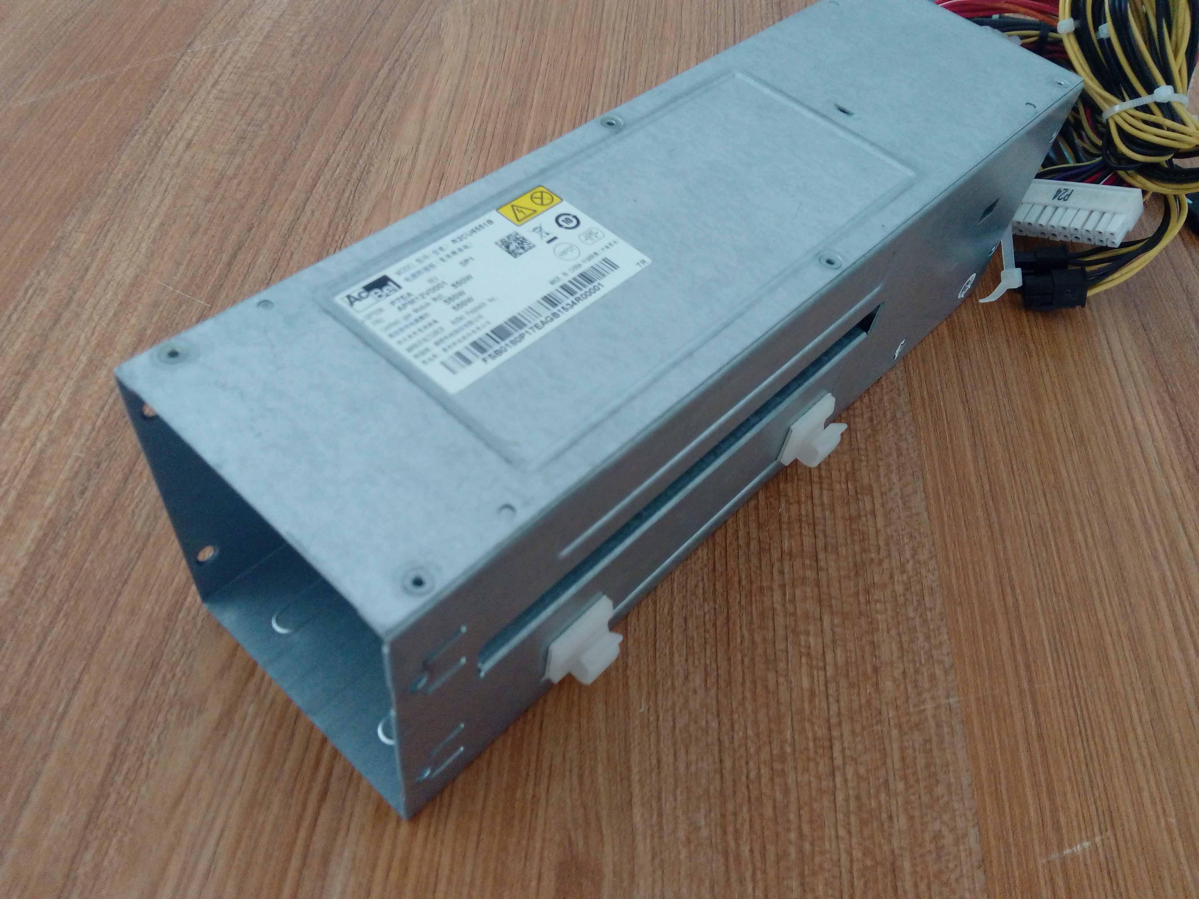 康舒 R2CU5551A 康舒R2CU5551A 2U 1+1 550W冗余电源