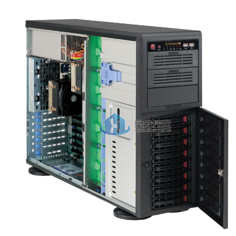 其他 CSE-743TQ-865B-SQ supermicro超微 CSE-743TQ-865B-SQ机箱 8盘位/含865W电源