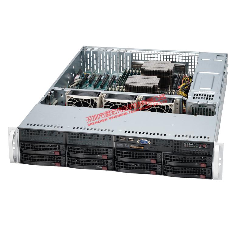 其他 SC825TQ-R740LPB supermicro美超微SC825TQ-R740LPB机箱+740w冗余白金电源
