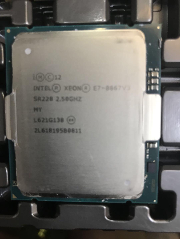 英特尔 E7-8867v3 英特尔 Intel Xeon CPU E7-8867v3