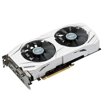 华硕 DUAL-GTX1060-O6G 1569-1809MHz 6G/8GHz GDDR5 雪豹系列电脑显卡