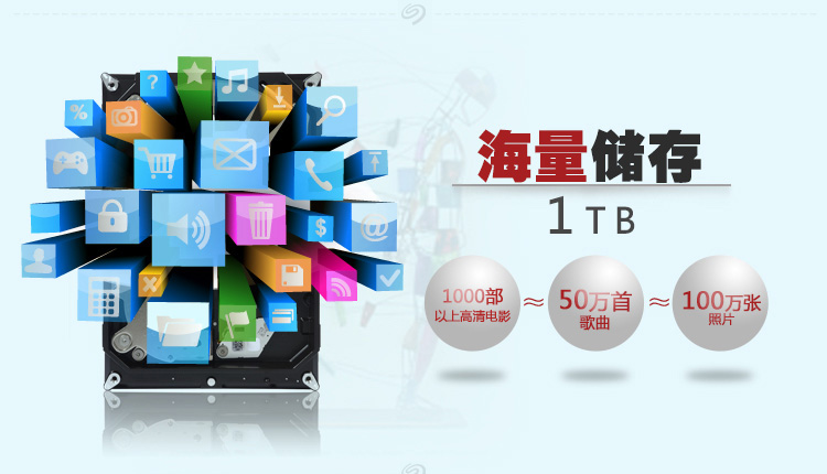 希捷(SEAGATE) 2TB 台式机电脑机械硬盘 ST2000DM006
