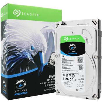 希捷(SEAGATE)酷鹰3T 监控级硬盘 5900转 3T机械硬盘 ST3000VX010