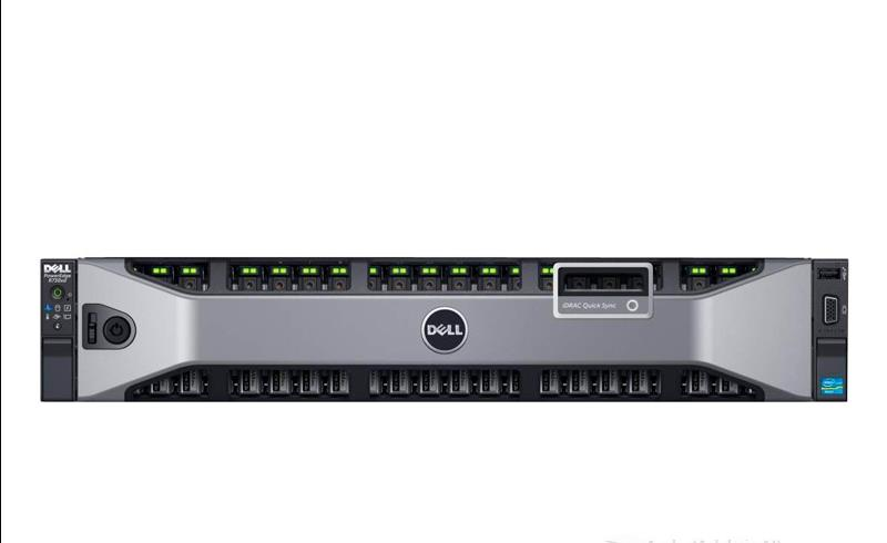 DELL PowerEdge R730xd Intel E5-2620V3*2 DELL-6T-7.2K*12 镁光-16G-2Rx4-2133P-PC4*8